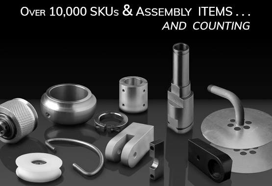 Over 10 Thousand Machined Parts and Counting