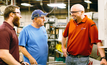 Cimtech is a machine shop where TEAMWORK makes it all happen